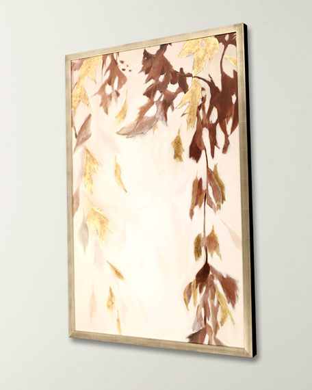 """Paragon Decors """"Falling Leaves"""" Giclee Canvas Art by Jardine"""