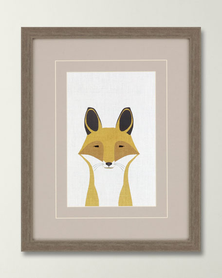"Image 1 of 2: ""Fox"" Canvas Art by Bailey"
