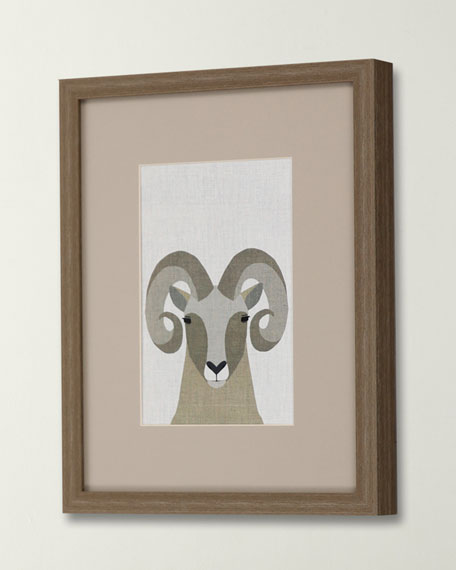 "Image 2 of 2: ""Bighorn Sheep"" Canvas Art by Bailey"