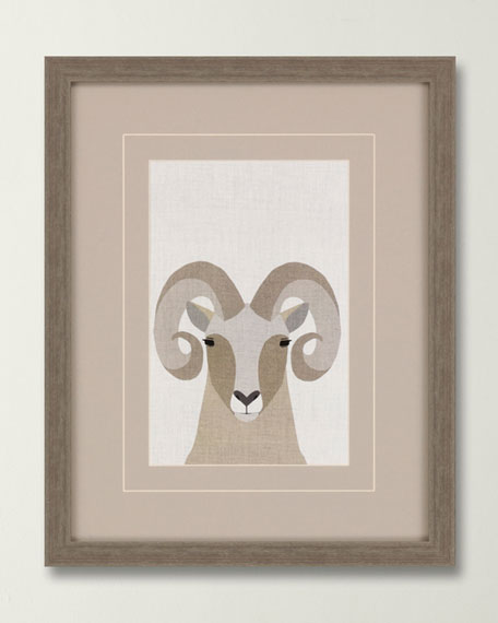 "Image 1 of 2: ""Bighorn Sheep"" Canvas Art by Bailey"