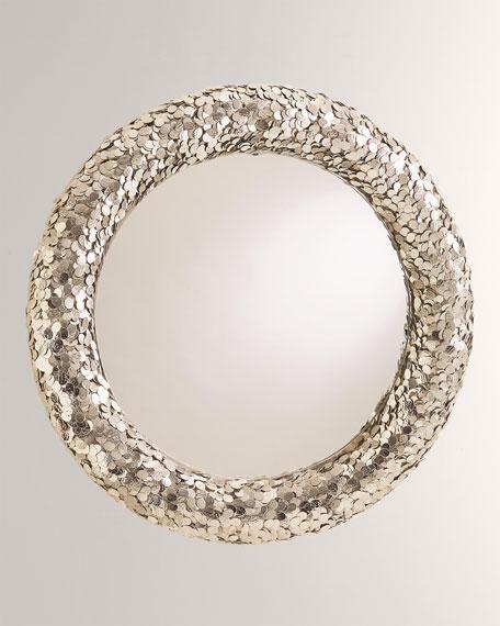 Global Views Gypsy Coin Mirror - Nickel