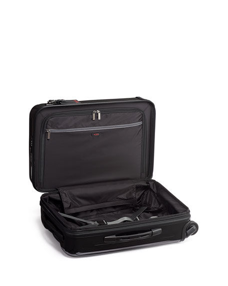 Image 2 of 5: TUMI International Expandable 4-Wheel Carry-On Luggage