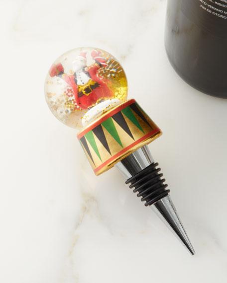 DCI Santa Snow Globe Bottle Stopper