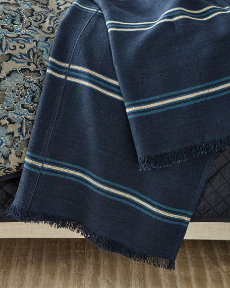 Ralph Lauren Home Mathers Throw Blanket, 54x72