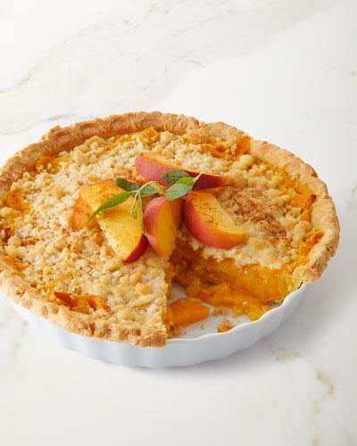 Lower Sugar Peach Pie
