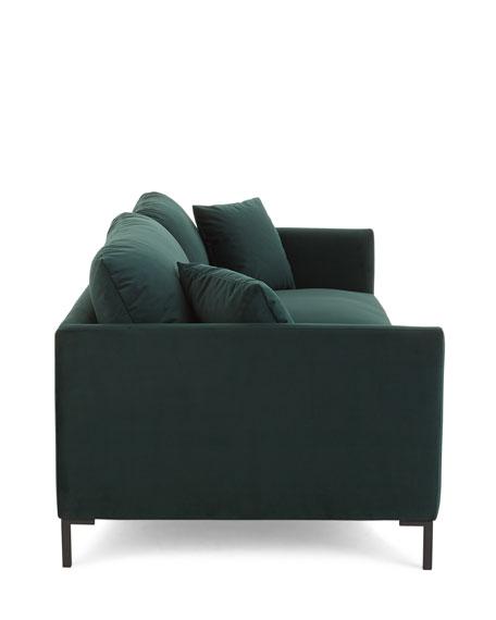 """Dayton Velvet Sofa, 89"""""""