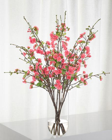 NDI Apple Blossom Fuchsia in Glass Cylinder