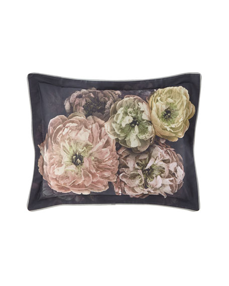 Designers Guild Le Poeme de Fleurs Midnight King Sham