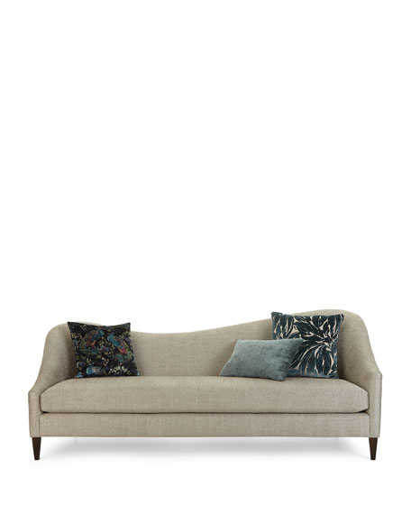 Massoud Raquel Right Side Curved Sofa, 92""