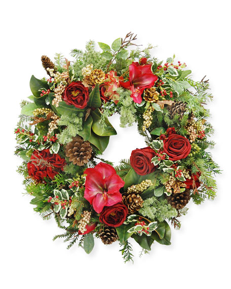 "Jim Marvin 24"" Mix Wreath"