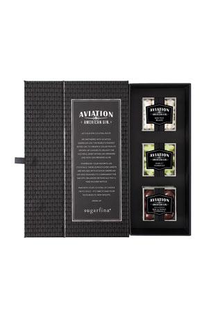 Sugarfina Aviation Gin 3-Piece Candy Bento Box Preset (Nonalcoholic)