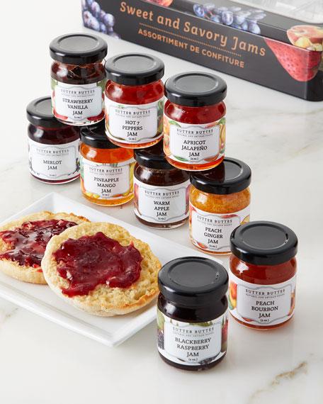 Sutter Buttes Natural and Artisan Foods Jam Gift Set Tin