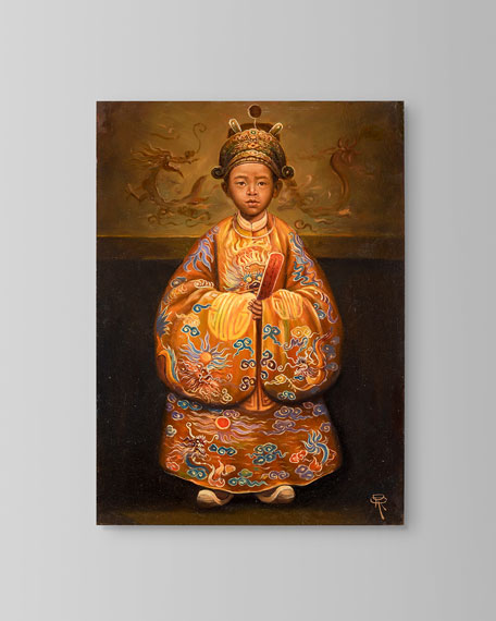 "John-Richard Collection ""Emperor Duc Tan"" Painting by Roland Renaud"