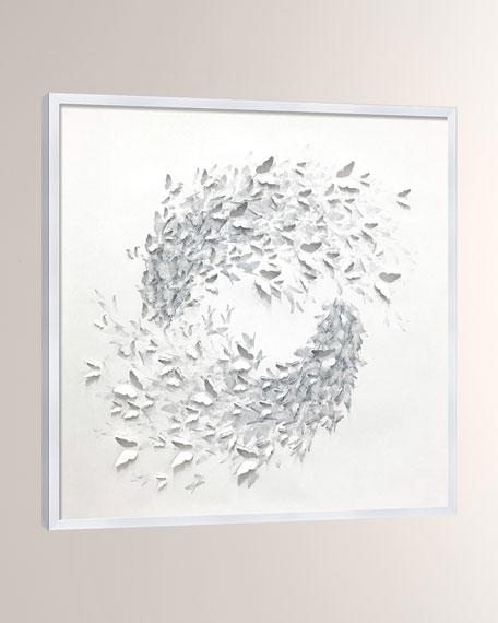 'Butterfly Swirl Shadowbox' Wall Art