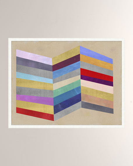 'Color Weave' Wall Art