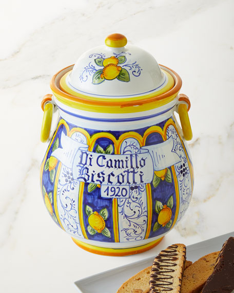 Dicamillo Baking Co Il Vaso con Orecchini Biscotti Jar