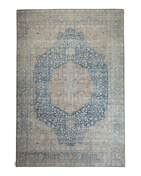 Francine Power-Loomed Rug, 5' x 8'