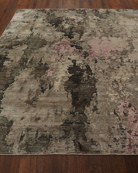 Yvonne Hand-Knotted Rug, 6' x 9'