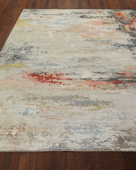 Annabelle Hand-Knotted Rug, 6' x 9'