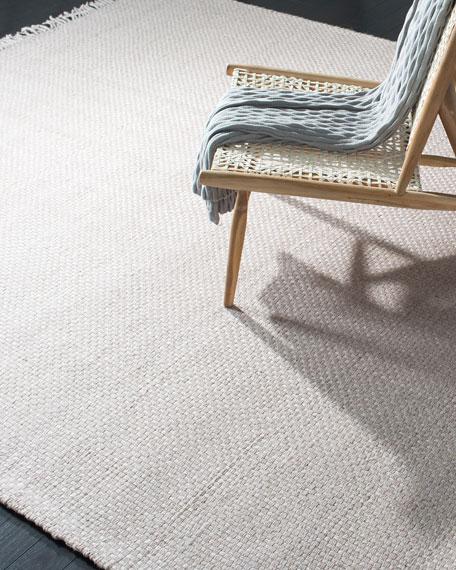 "Lauren Ralph Lauren Amalie Pewter Hand-Woven Flat Weave Runner, 2'6"" x 8'"