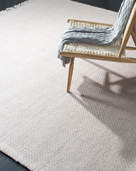 Lauren Ralph Lauren Amalie Pewter Hand-Woven Flat Weave Rug, 9' x 12'