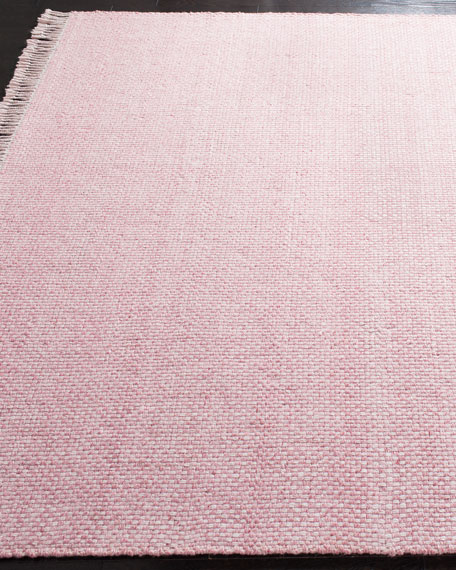 "Lauren Ralph Lauren Amalie Pink Hand-Woven Flat Weave Runner, 2'6"" x 8'"