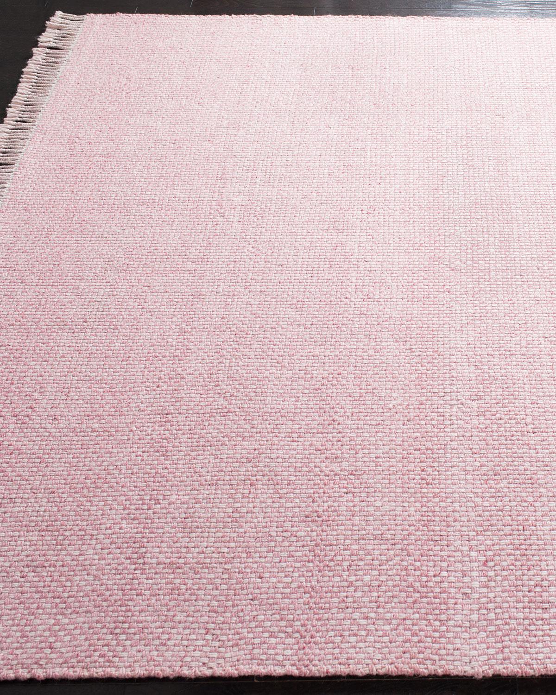 "Amalie Pink Hand Woven Flat Weave Runner, 2'6"" X 8' by Lauren Ralph Lauren"