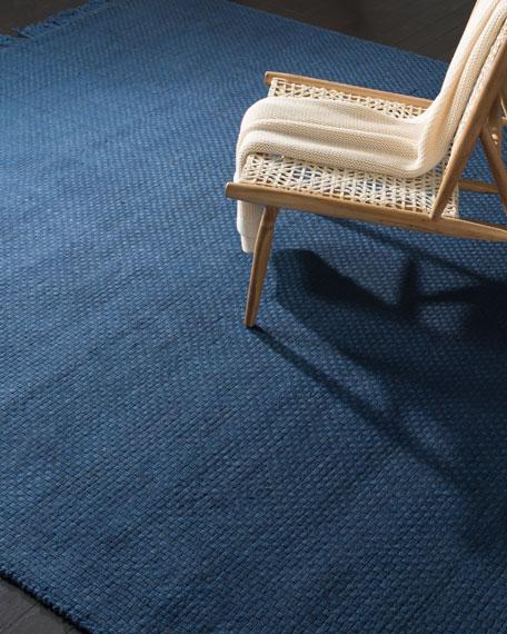 Lauren Ralph Lauren Amalie Navy Hand-Woven Flat Weave Rug, 9' x 12'