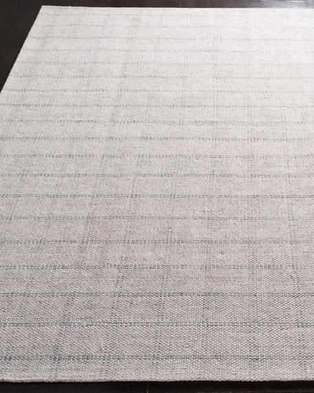 Lauren Ralph Lauren Tamworth Silver Check Hand-Woven Rug, 4' x 6'