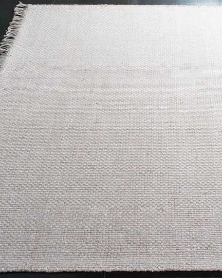 Lauren Ralph Lauren Amalie Pewter Hand-Woven Flat Weave Rug, 4' x 6'