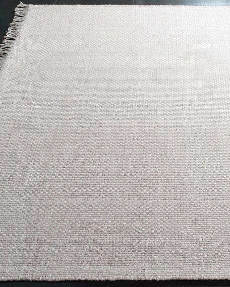 Lauren Ralph Lauren Amalie Pewter Hand-Woven Flat Weave Rug, 8' x 10'