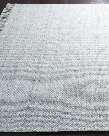 """Lauren Ralph Lauren Amalie Sage Hand-Woven Flat Weave Runner, 2'6"""" x 8'"""