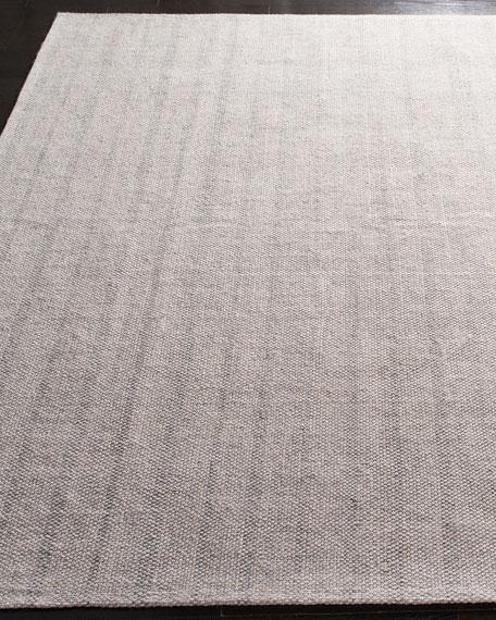 Lauren Ralph Lauren Miles Silver Stripe Flat Weave Rug, 8' x 10'