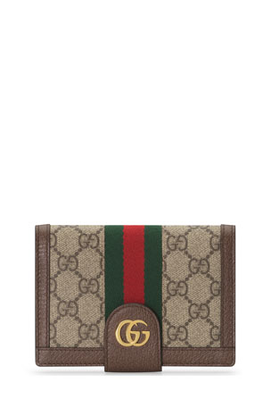 Gucci Ophidia GG Supreme Passport Case