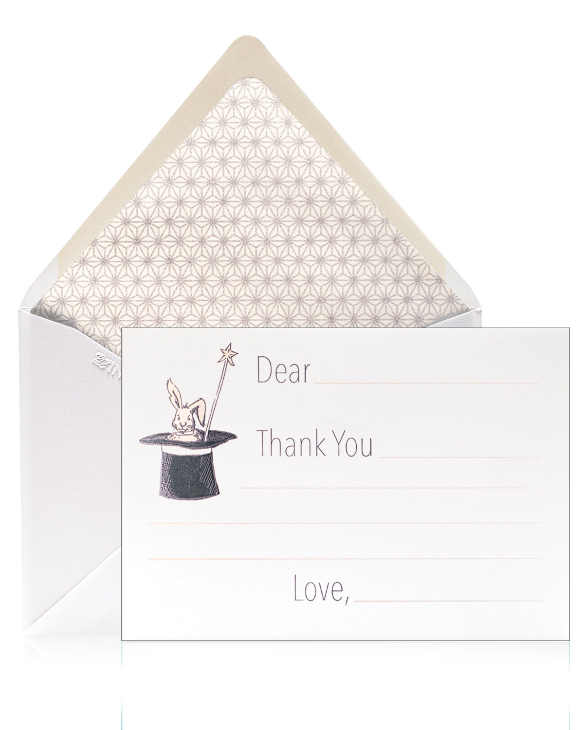 Bell'INVITO Magic Thank You Cards, Box of 12