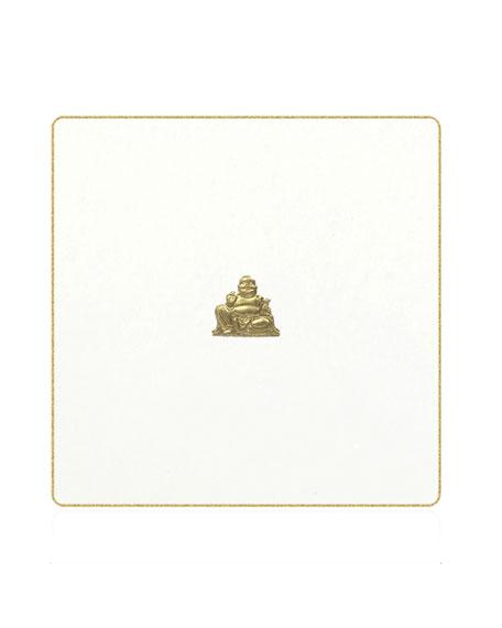 Bell'INVITO Happy Buddha Coasters, Set of 18