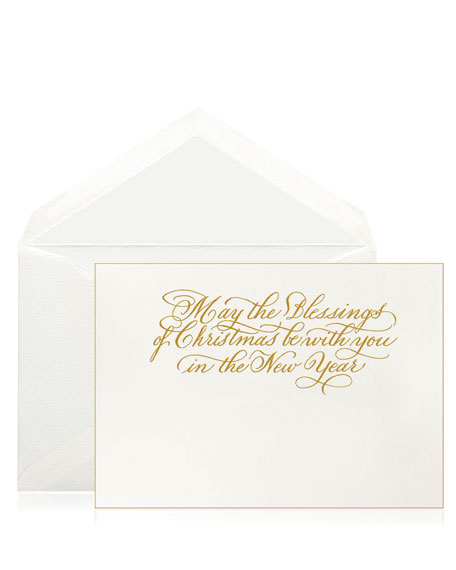 Bell'INVITO Blessings of Christmas Stationery Set, Box of 10