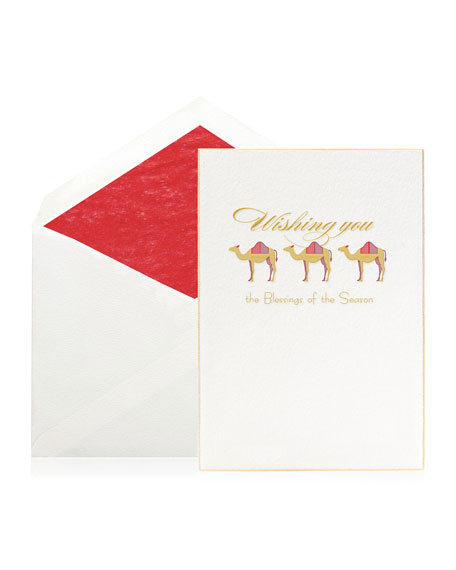 Bell'INVITO Blessings of the Season Stationery Set, Box of 10