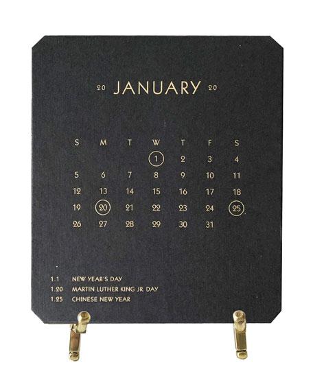 Bell'INVITO 2020 Calendar Noir