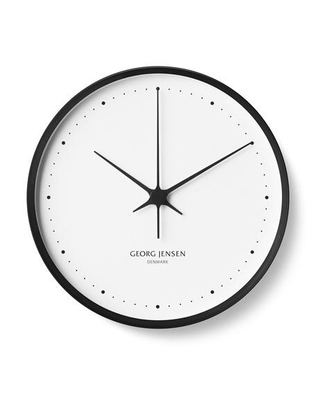 "Georg Jensen Henning Koppel Clock, 12.8"""