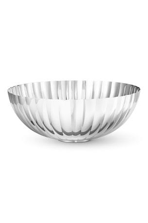 New Georg Jensen Denmark HELIX Stainless Bonbonniere Sugar Candy Bowl