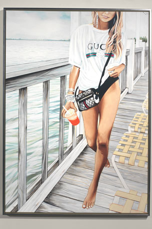 "RFA Fine Art ""Gucci Keys"" Giclee Wall Art by Jeff Schaub"