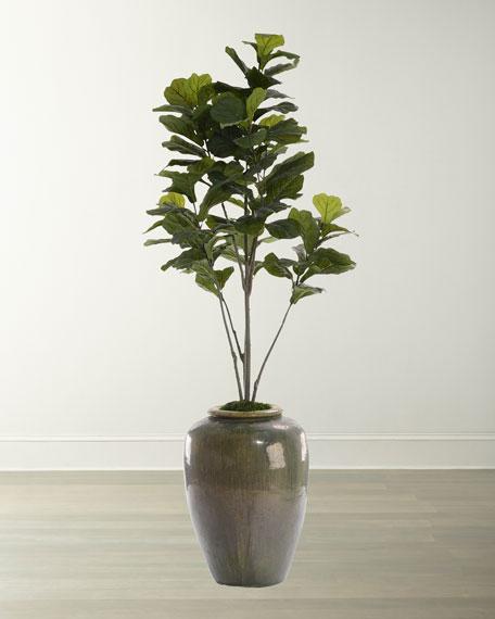 John-Richard Collection Green Fiddle Leaf Fig Tree