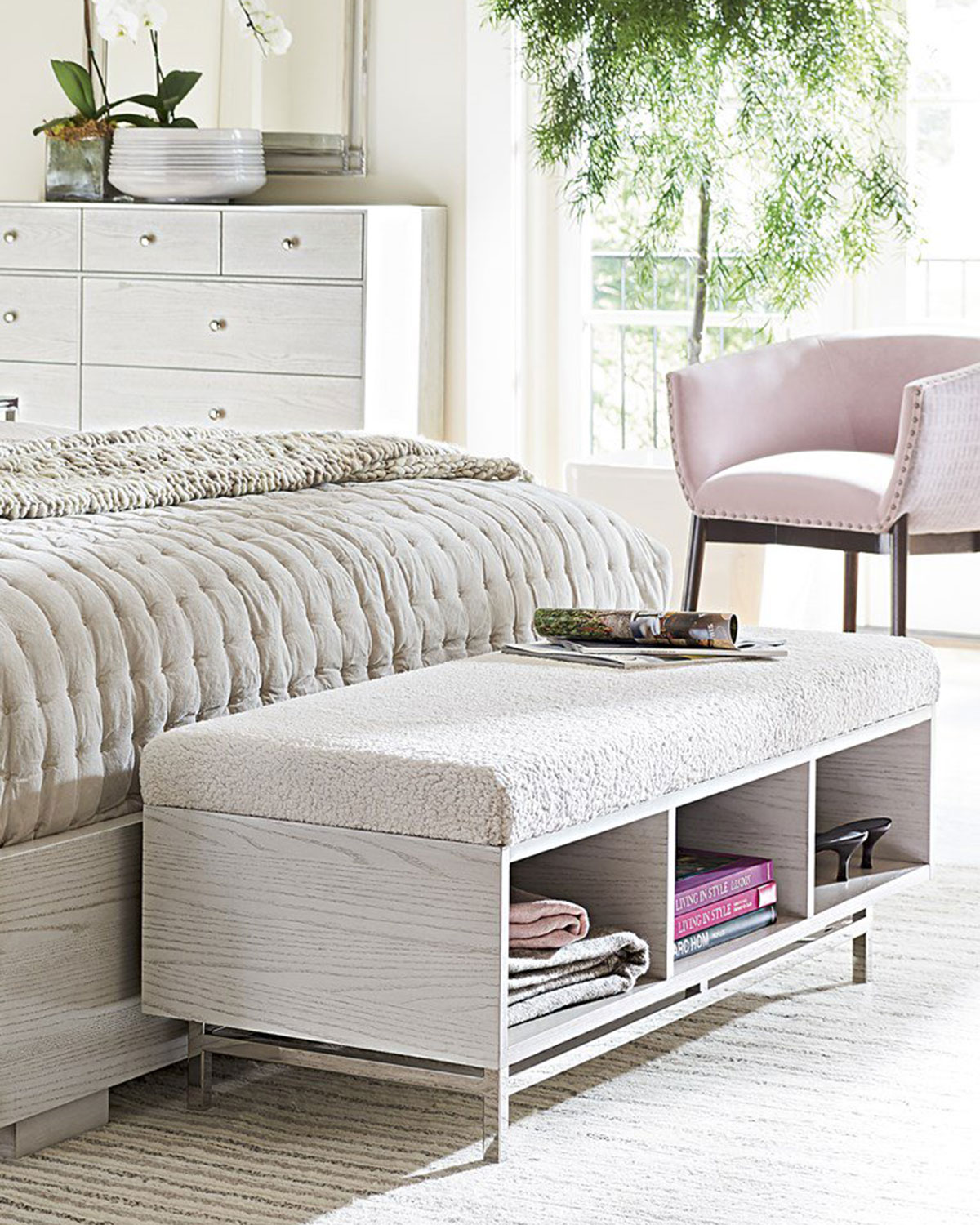 Cibo Bed End Bench