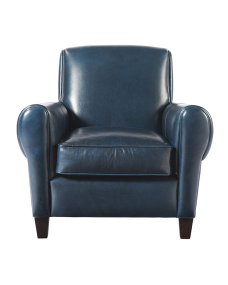 Remington Leather Accent Chair