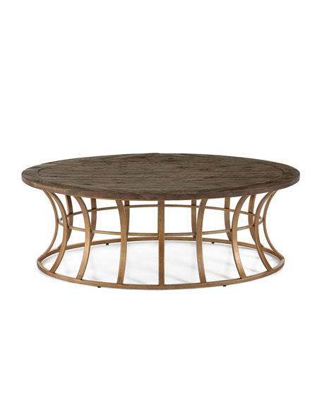 Image 2 of 4: Mia Oval Coffee Table