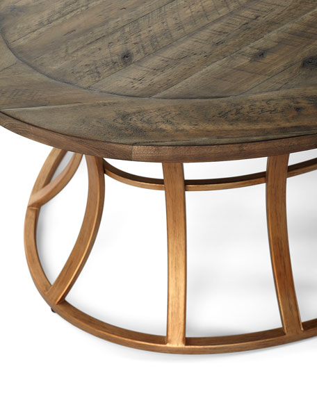 Image 3 of 4: Mia Oval Coffee Table