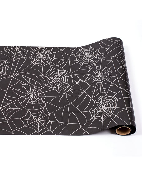 Hester & Cook Spider Web Paper Table Runner