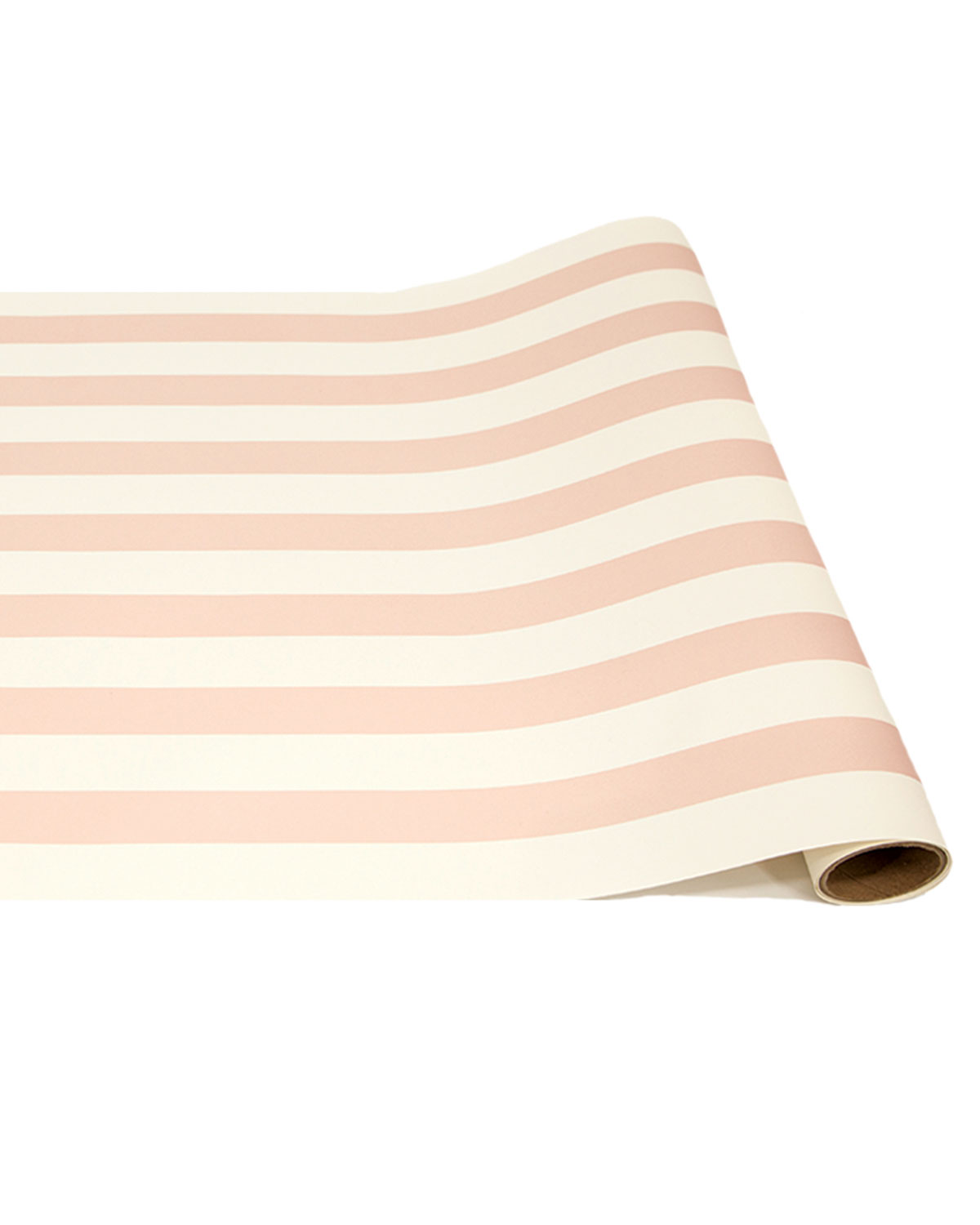 Hester & Cook Pink Classic Stripe Paper Table Runner