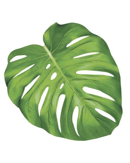 Hester & Cook Set of 12 Monstera Leaf Paper Placemat